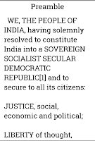 Screenshot of Indian Constitution and Polity