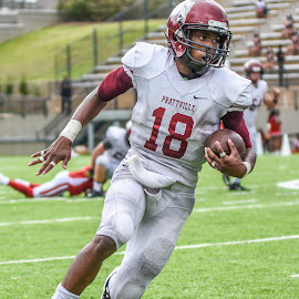 by Jackie Nix - Sports & Fitness American and Canadian football ( gridiron, football, american football, sports, prattville high school )