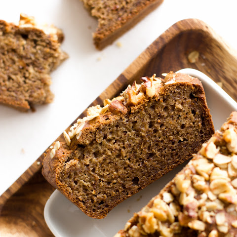 Healthy Banana Bread (without Added Sugar)