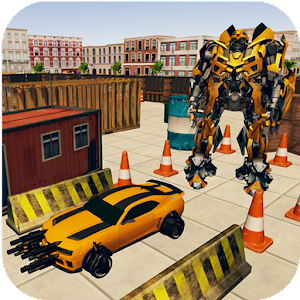 New Robot Car Transform Parking-Car Parking Driver For PC / Windows 7/8/10 / Mac – Free Download
