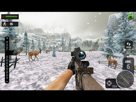 Sniper Deer Hunting Modern FPS Shooting Game APK screenshot thumbnail 18