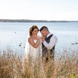 Prince Charming by Mel Stratton - Wedding Bride & Groom ( love, married, bride, groom, gentleman )