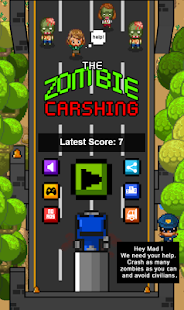 Zombie Crashing - screenshot