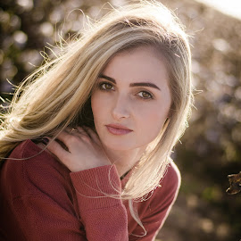 Leriche by Hein Le Roux - People Portraits of Women ( hair, face, beauty, sunset, blonde, girl )