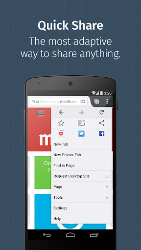 Firefox for Android Beta screenshot 4