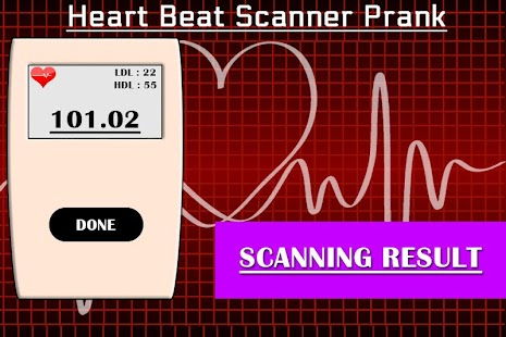 Free Heart Beat Rate Checker Prank APK for Windows 8