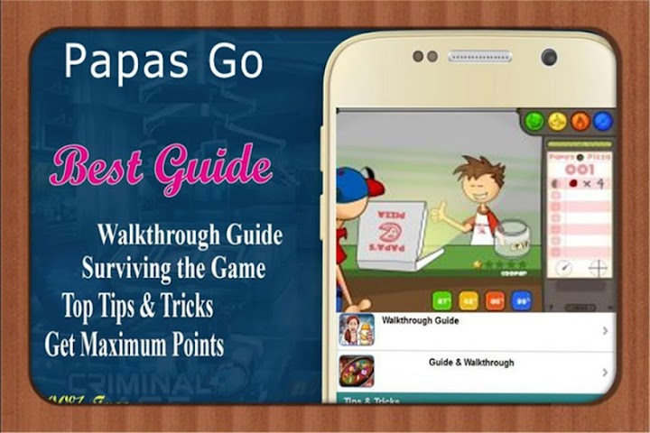 android RP Guide for papas freezeria Screenshot 2