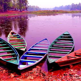 by SANGEETA MENA  - Transportation Boats