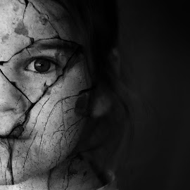 Broken by Brian Curnel - Digital Art People ( broken, abuse, girl, imactful, decry, artistic, cracked )