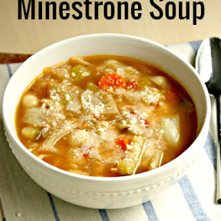 Savoy Cabbage Minestrone Soup Recipes