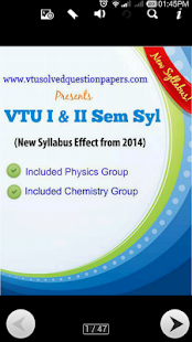 VTU First Year Syl - screenshot