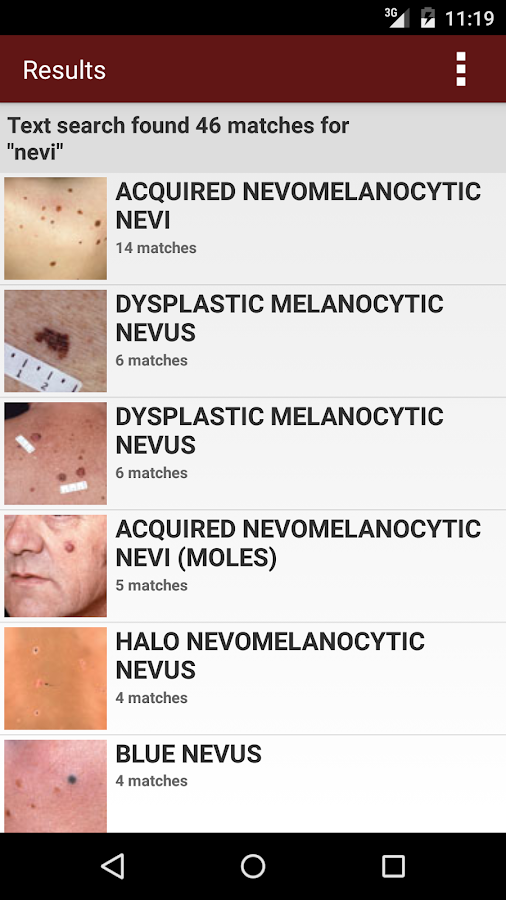 Fitzpatrick's Derm Flash Cards Screenshot 5