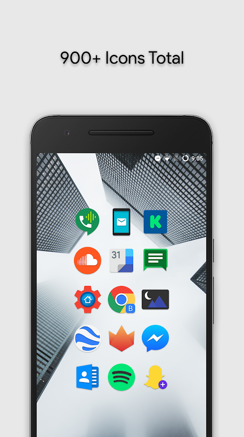 Zephyr - Icon Pack Screenshot 3