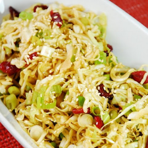 Oriental Cabbage and Cranberry Salad - 2 Smartpoints