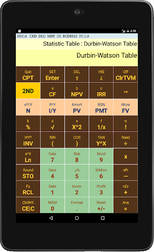 Financial Calculator BA Chien. - screenshot