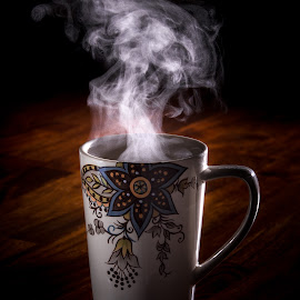 Steaming by Mike DeMicco - Food & Drink Alcohol & Drinks ( cup, mug, warm, cocoa, coffee, drink, hot, steam )