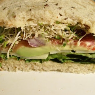 Weight Watchers Tomato Avocado & Cheese Sandwich