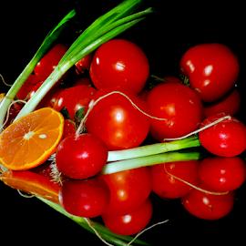vegetables with the orange by LADOCKi Elvira - Food & Drink Fruits & Vegetables ( vegetables )