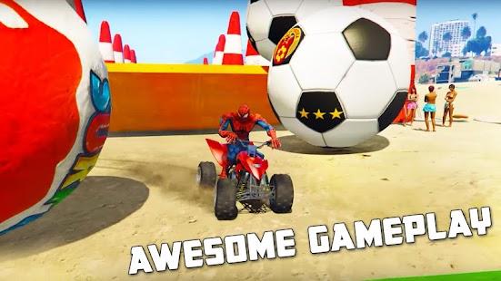 Quads Superheroes Stunts Racing for pc