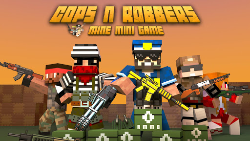 Cops N Robbers - FPS Mini Game screenshot 1