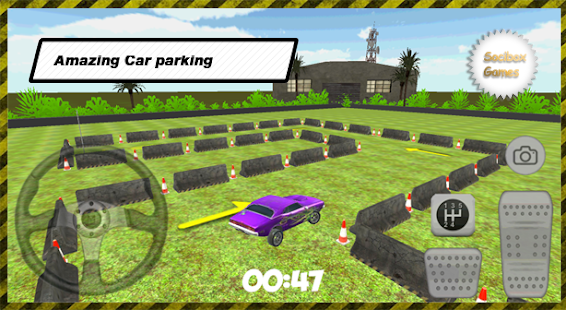 3d voiture violet parking apk 10 0 0 jeux de simulation gratuits pour android. Black Bedroom Furniture Sets. Home Design Ideas