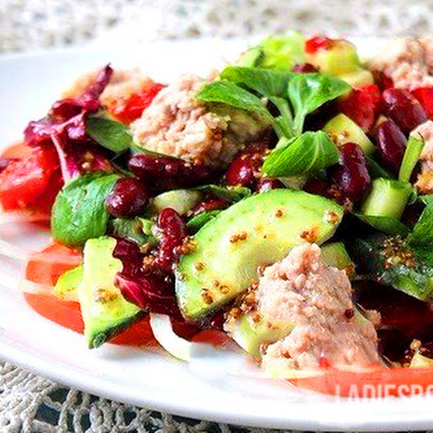 Salad With Red Beans And Tuna