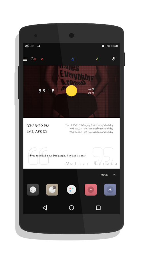 Dub Sak Special for KLWP Screenshot 0