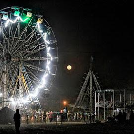 by Abdul Rehman - City,  Street & Park  Night (  )
