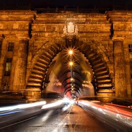 Buda tunell,Budapest 2017 by Orit Shlomov - City,  Street & Park  Street Scenes