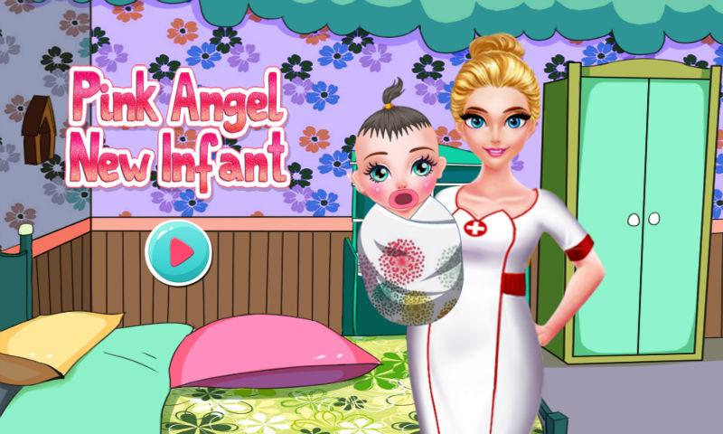 android Pink Angel New Infant Screenshot 0