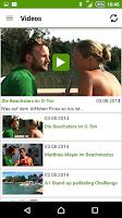 Screenshot of A1 Beach App
