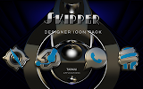 SKIPPER HD Icon Pack light blue- screenshot thumbnail