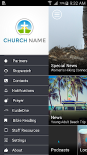 Globalheart Church - screenshot