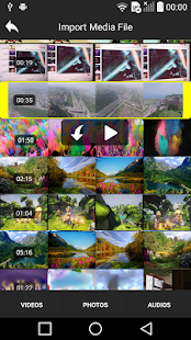 Video Editor AndroMedia Screenshot