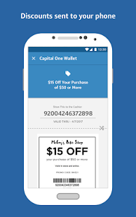 Capital One Wallet Screenshot