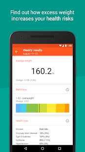 Healthy Weight: tracker & BMI (Unreleased) - screenshot