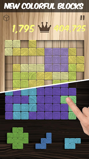 Woodblox Puzzle  Wood Block Wooden Puzzle Game For PC