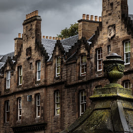 Edinburgh Roof by George Nichols - Buildings & Architecture Other Exteriors ( roof, british isles, scotland, uk, edinburgh )