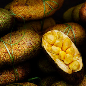 Jackfruits by Mohamad Sa'at Haji Mokim - Food & Drink Fruits & Vegetables ( jackfruit, stock, pwcfruit, tropical, fruits )