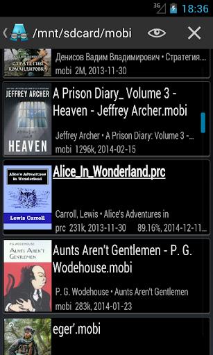 AlReader -any text book reader screenshot 6