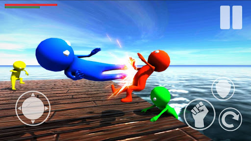 Beast Wrestling of Gangsters Stickman Fighting For PC
