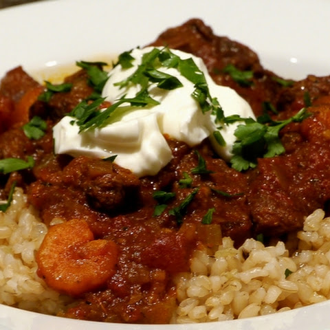 Slow-Cooker Beef & Tomato Stew