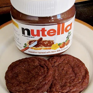 Four Ingredient Nutella Cookies