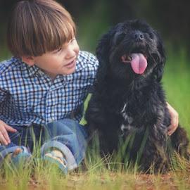 my best friend by Theresa  Floyd - Babies & Children Children Candids