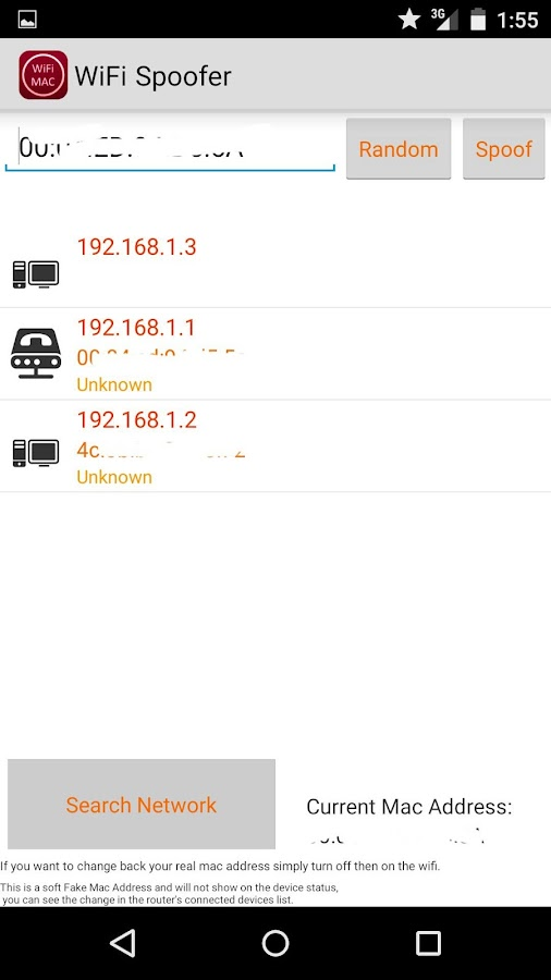 WiFi Spoofer 5 Pro (root) Screenshot 1