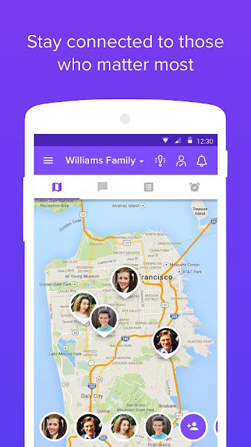 Family Locator screenshots