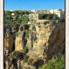ronda, spain by Jim Knoch - Landscapes Mountains & Hills