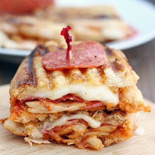 Chicken Pepperoni Parmesan Panini & Hormel Pepperoni