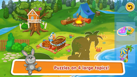 Puzzles for Toddlers with Learning Words for Kids- screenshot