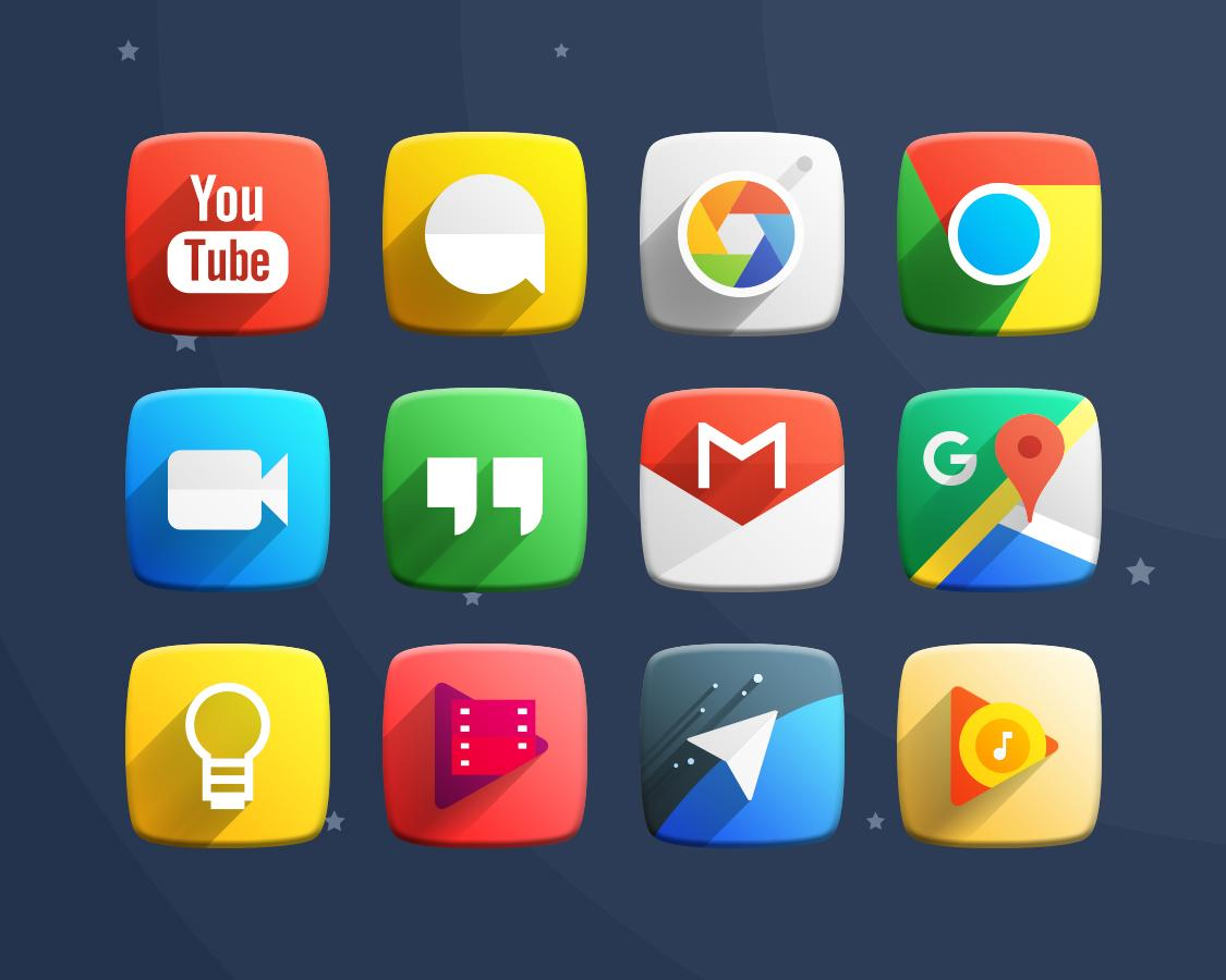 Space Z Icon Pack Theme Screenshot 10